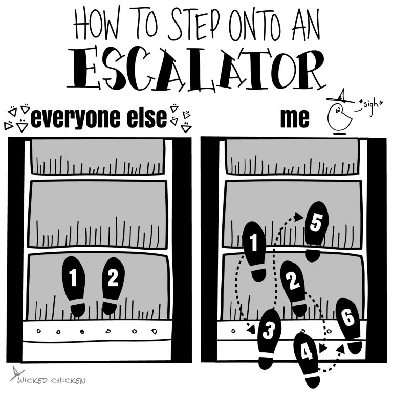 How to Use an Escalator