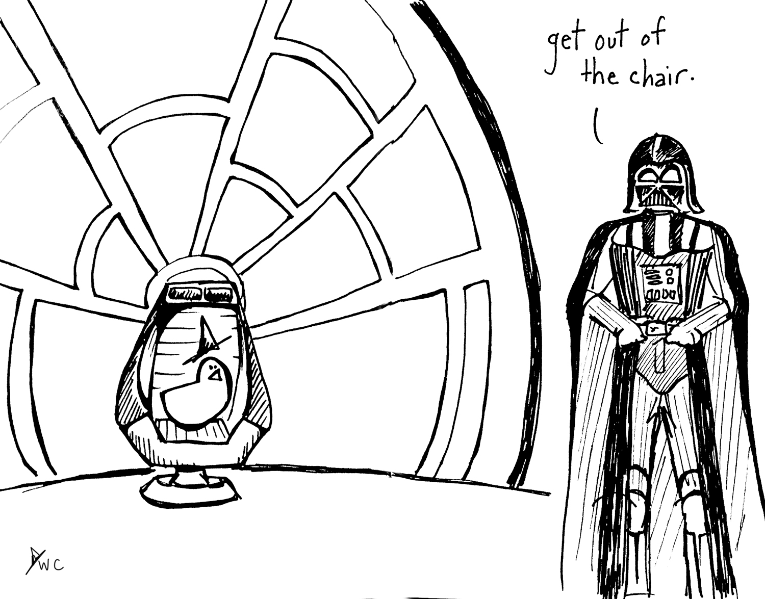 The Emperor's New Chair